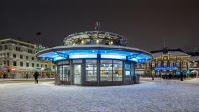 Ticket office in gothenburg, Sweden. Royalty Free Stock Photo