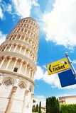 Ticket office for Pisa tower. Ticket office for Pisa leaning tower, Itally Royalty Free Stock Image
