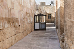 Ticket office in roman theater in Amman, Jordan Royalty Free Stock Photography