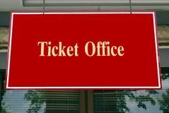 Ticket office sign Stock Photos