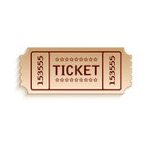 Ticket Royalty Free Stock Photography