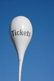 Ticket sign Royalty Free Stock Photography