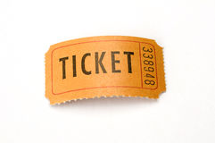 Ticket stubs Royalty Free Stock Image