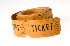 Ticket stubs Royalty Free Stock Photo