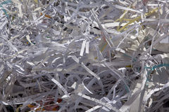 Ticket-tape Parade Cleanup Royalty Free Stock Photos