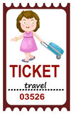 Ticket travel Stock Photos