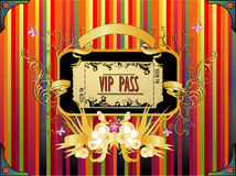 Ticket vector illustration Stock Images