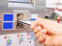 Ticket vending machine Royalty Free Stock Images
