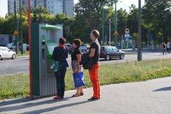 Ticket vending machine Stock Photography