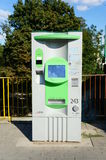 Ticket vending machine Royalty Free Stock Photos