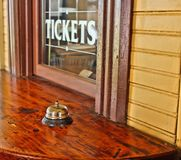 Ticket Window Stock Image