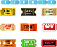Tickets Royalty Free Stock Photo
