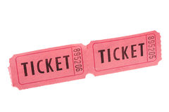Tickets Stock Photography