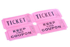 Tickets Royalty Free Stock Photos