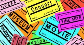 Free Tickets Royalty Free Stock Photos - 20237088