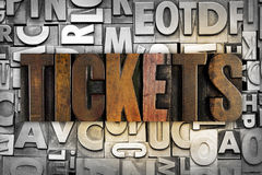 Tickets Royalty Free Stock Image