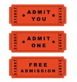Tickets royalty free stock photography