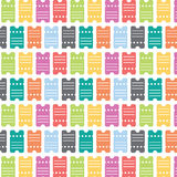 Tickets Seamless Pattern Stock Photos