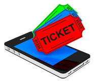 The tickets Stock Photography