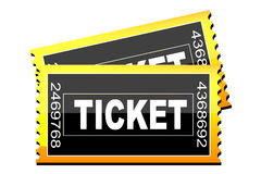 Tickets icon Royalty Free Stock Images