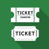 Tickets illustration royalty free stock images