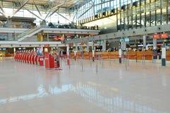 Tickets office at Hamburg International Airport Royalty Free Stock Photos
