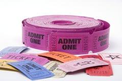 tickets olikt Arkivfoton