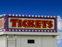 Tickets Sign Stock Images