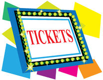 Tickets Sign Royalty Free Stock Images