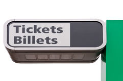 Tickets Sign Stock Image