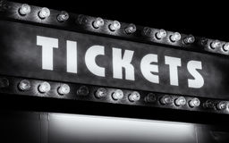 Tickets Stock Image