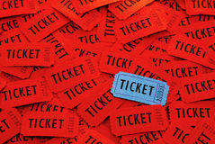 Tickets Used for Entrance into an Event Stock Images