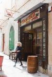 Tico Tico bar. The Tico Tico bar located in 'the Gut' in Valletta, Malta Royalty Free Stock Photos