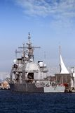 War ship Royalty Free Stock Image