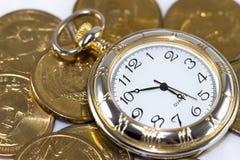 Tid är pengar Arkivfoton