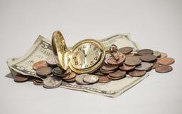 Tid är pengar Royaltyfria Bilder