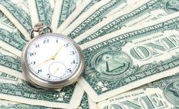 Tid är pengar arkivbilder