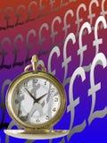Tid är pengar vektor illustrationer