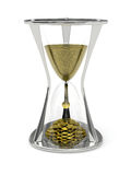 Tid är pengarbegreppet Arkivfoton