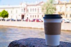 Tid att dricka kaffe Arkivfoton