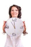 Tid/det är 5 för 12 Arkivbild