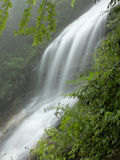 Tid exponering av vattenfallet Arkivbild