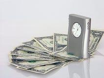 tid för 2 pengar Arkivbild