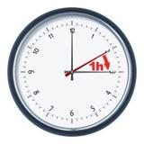 tid för dagsljussparande Arkivfoton