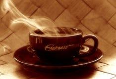tid för kaffe 2 Arkivfoto