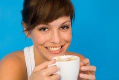 tid för kaffe s Royaltyfri Foto
