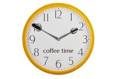 Tid för kaffeavbrott royaltyfria bilder