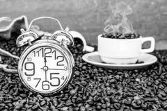 Tid för kaffeavbrott Arkivfoton