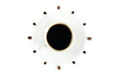 tid för kaffekopp Royaltyfria Foton