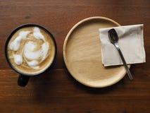 Tid för kaffeträd i restaurang Fotografering för Bildbyråer